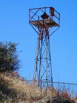 a tall beacon tower