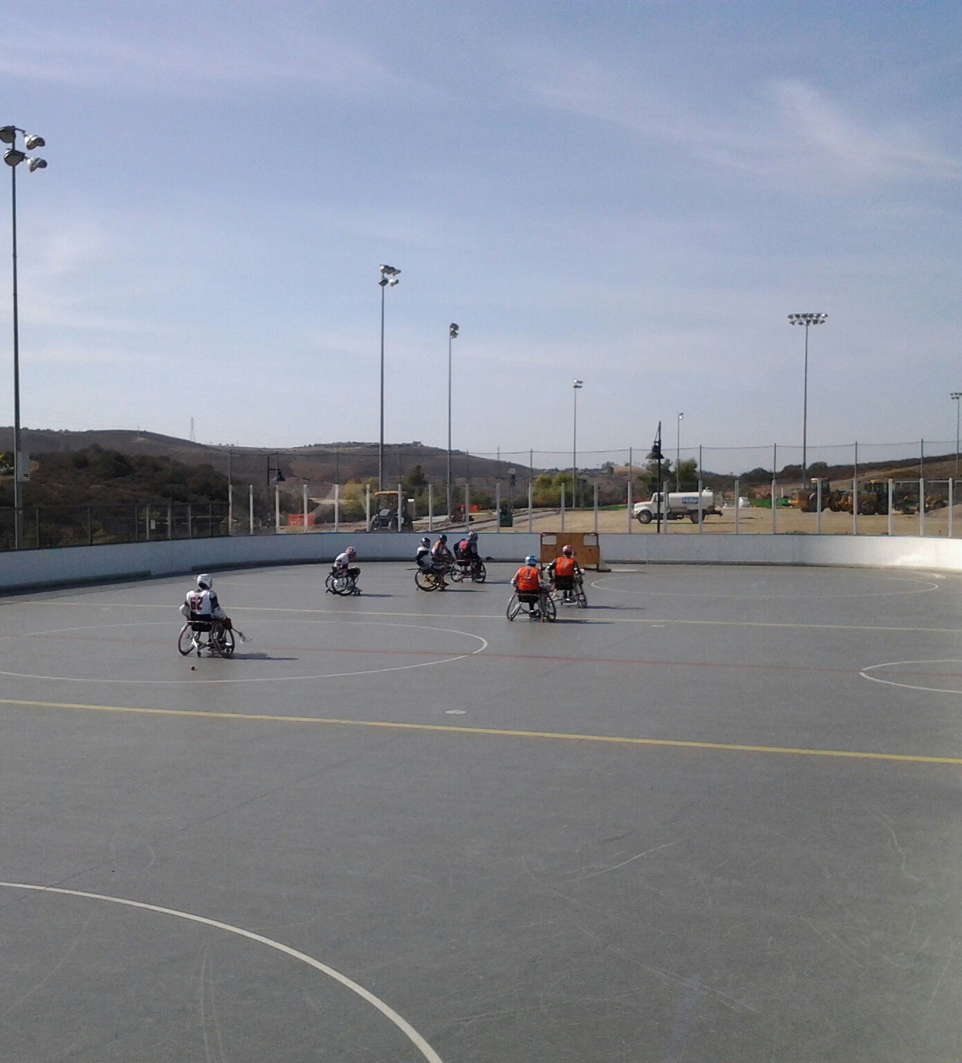 Adult Wheelchair Lacrosse