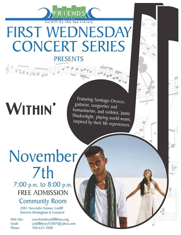 First Wednesday Concert: Within'