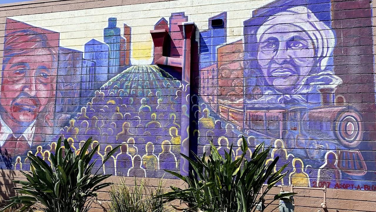 colorful mural