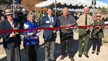 Borrego Springs Celebrates New Library, Park and Sheriff's Office