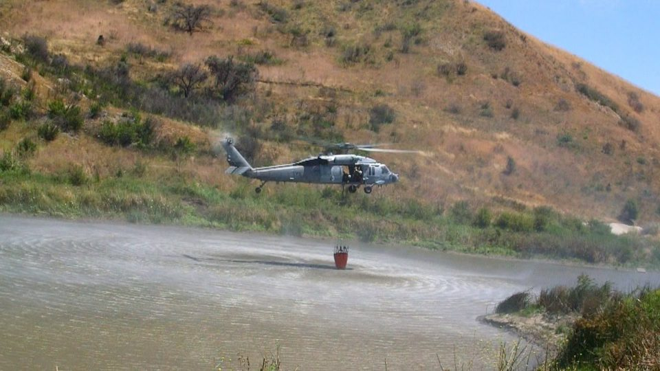 Cal Fire, Military Train Together at Camp Pendleton