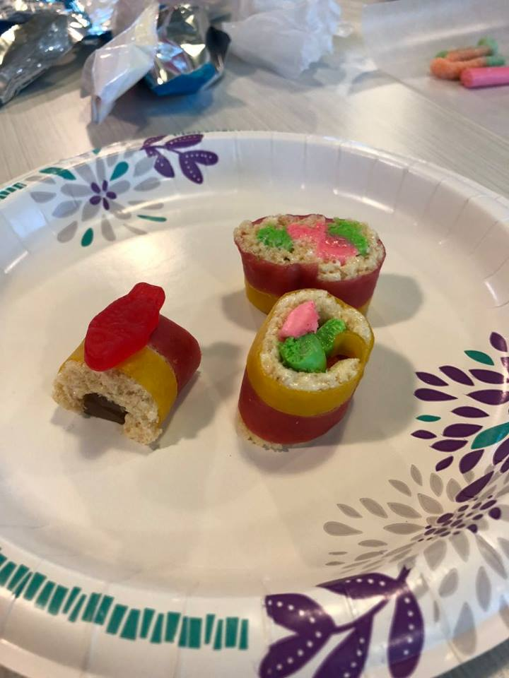 Edible Craft - Candy Sushi