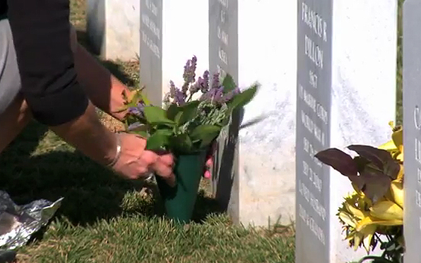 cemetery-military-flowers