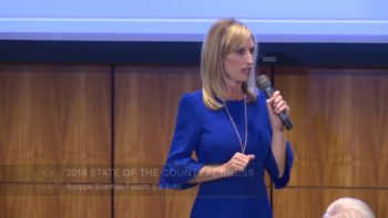 Chairwoman Gaspar Delivers State of County Address