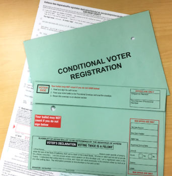 Conditional Voter Registration