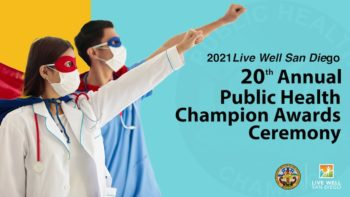 20th annual public health awards logo