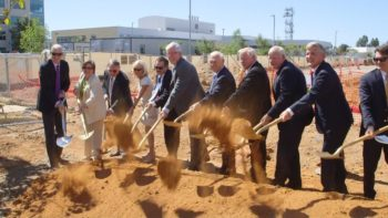County Breaks Ground on New Crime Lab