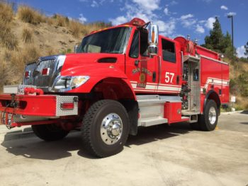 County, City Share Firefighting Resources in North County