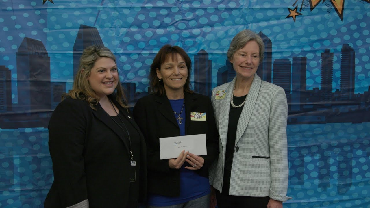CECO giving grant checks