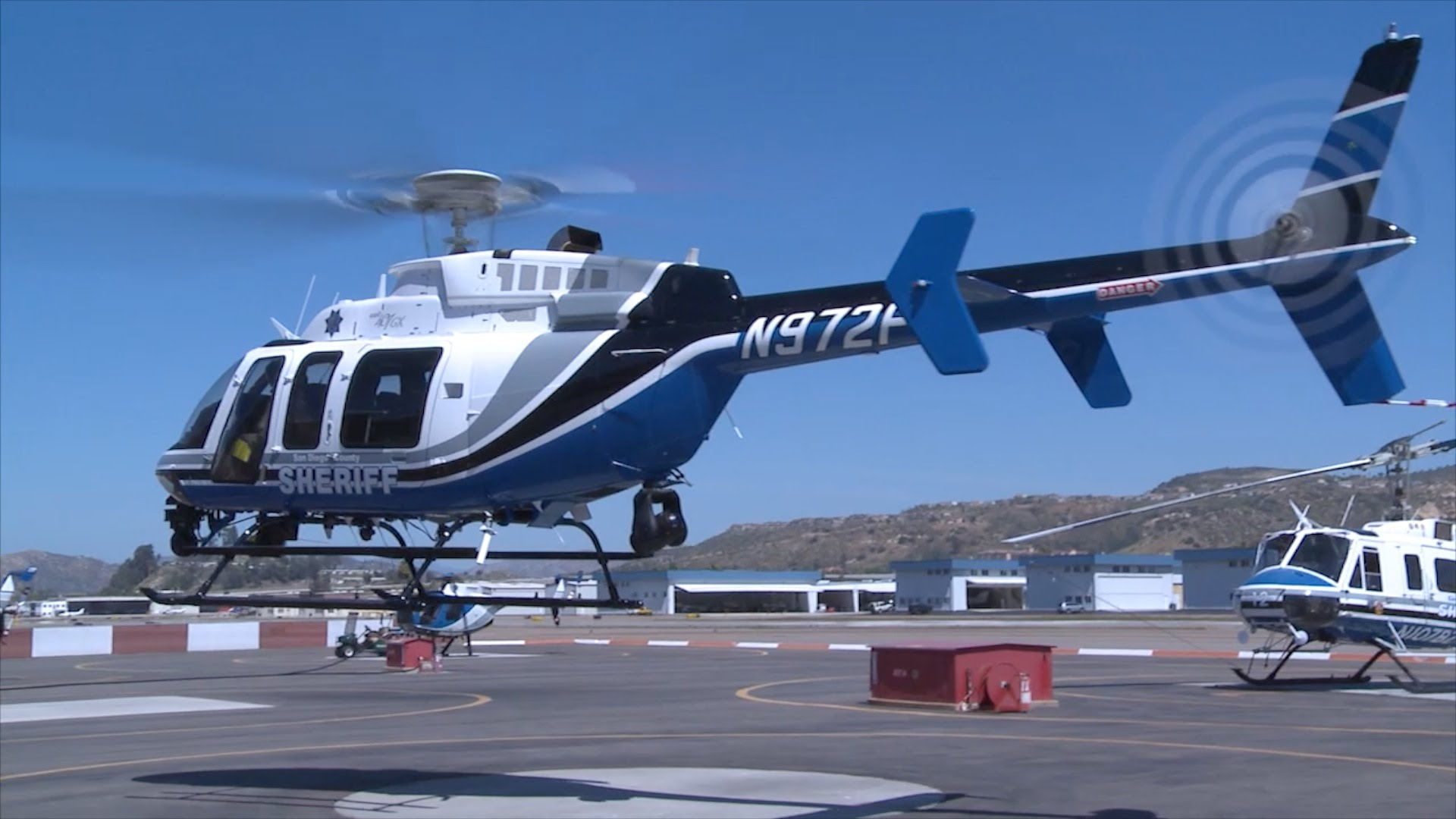 County Gets Needed Help from the Air