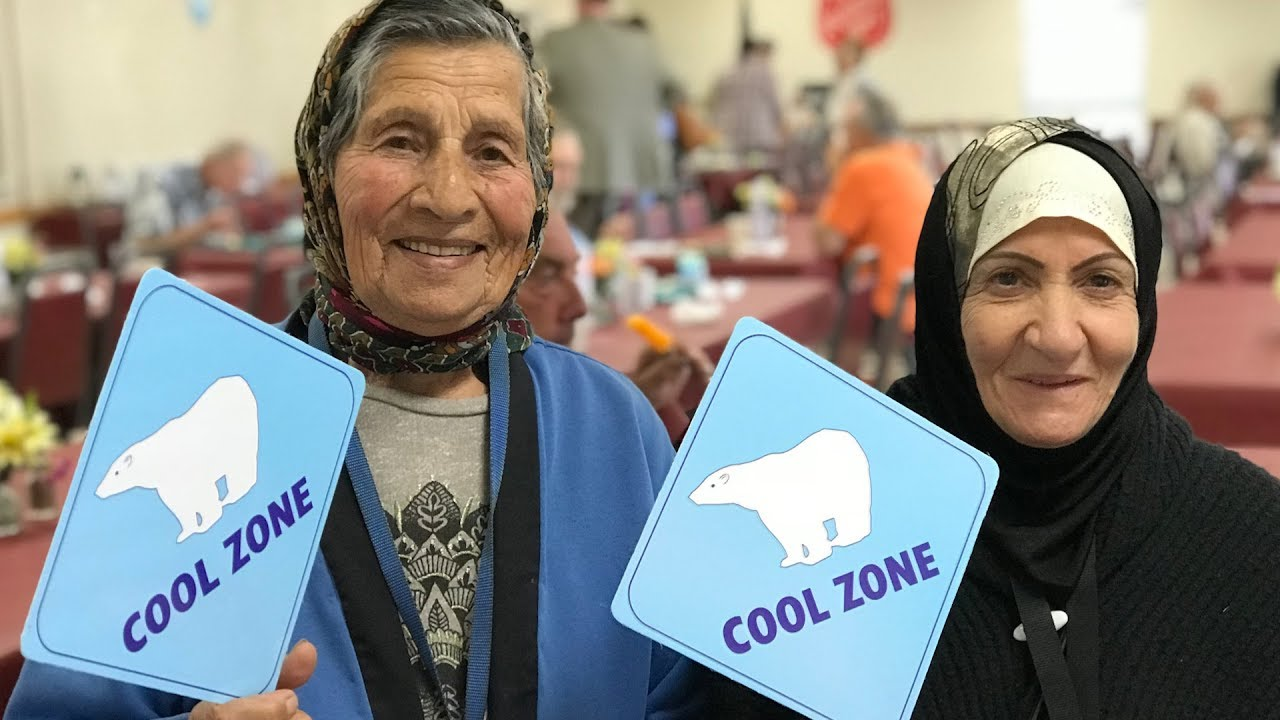 County Launches Cool Zones to Keep Seniors Safe