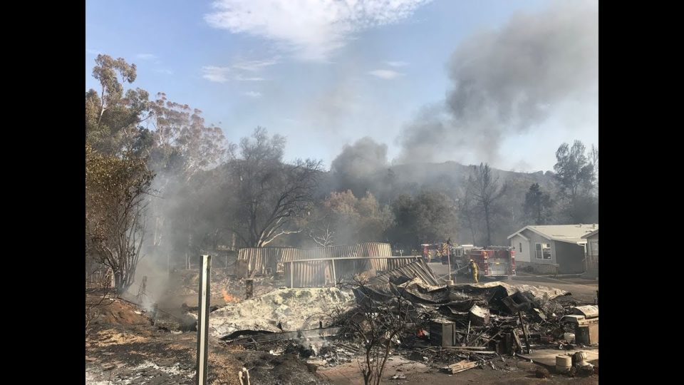 County Opens Assistance Center for Fire Victims