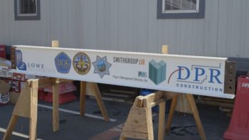 Crime Lab Construction Hits Milestone