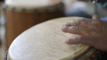 Drum Circle Provides Therapy, Healing