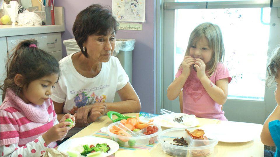 'Garden Grandmas' Teach Kids Healthy Eating Habits