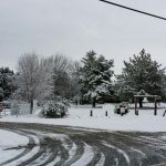 Juvenile Ranch Facility in Campo gets blanketed in snow.