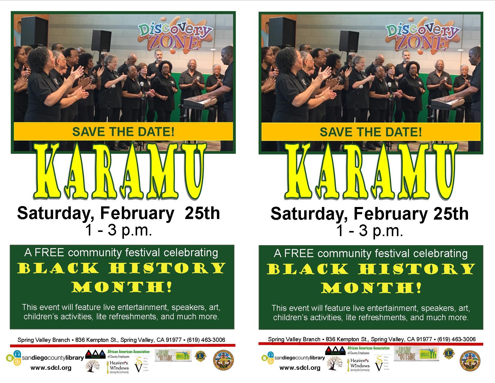 karamu save the date 2017