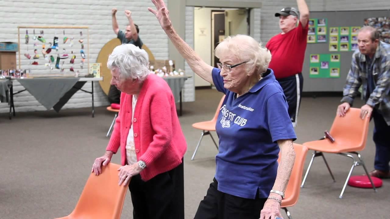 Keeping Fit at 93