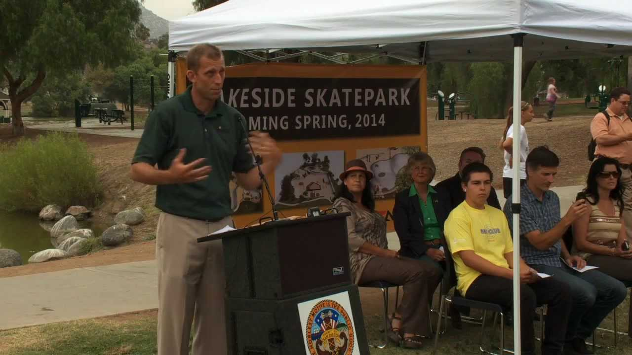 Lakeside Skateboarders Get Their Own Park