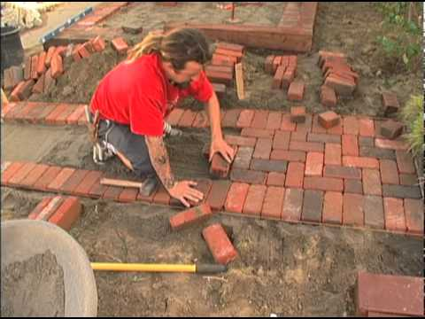 Laying A Brick Patio, Ornamental Grasses | Video | San Diego County News  Center