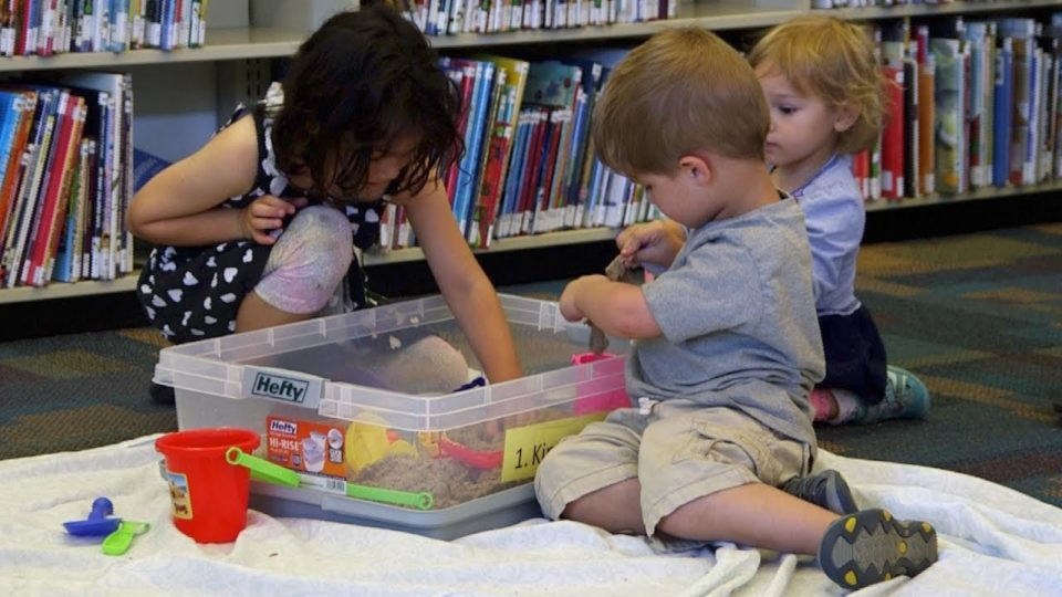 Library Gets in Touch with Autistic Kids