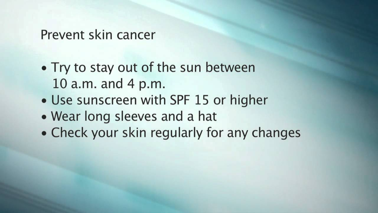 Live Well Minute: UV Safety