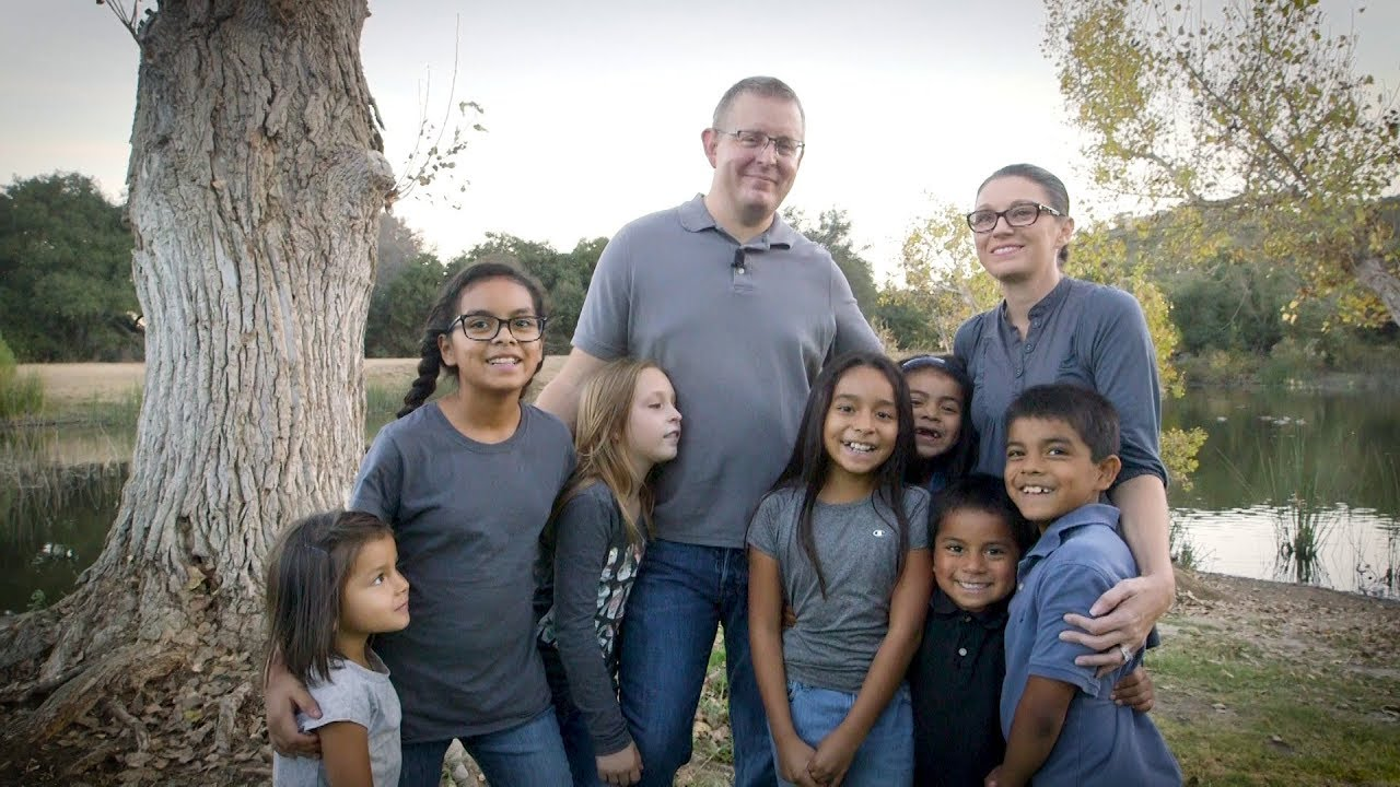 Local Family Adopts Six Siblings