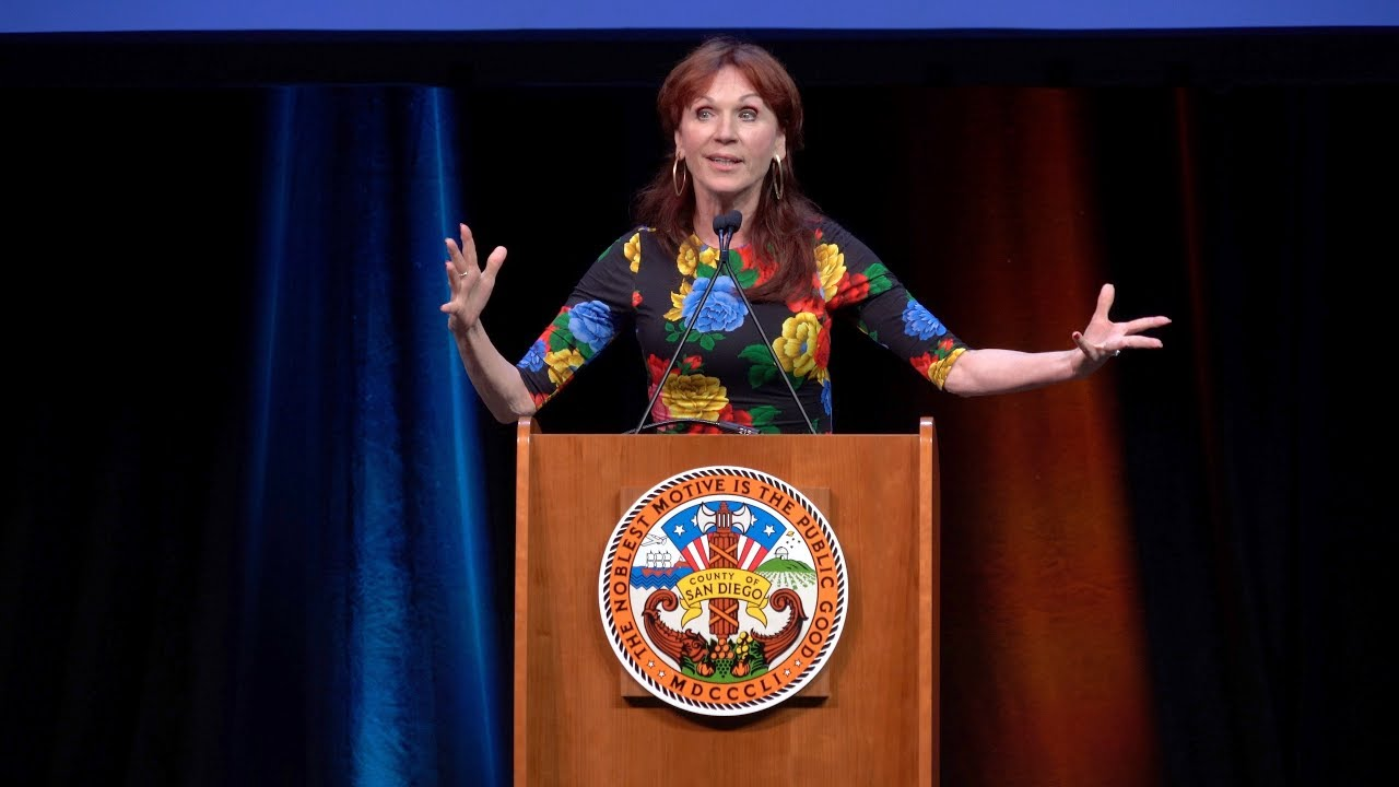 Marilu Henner speaking