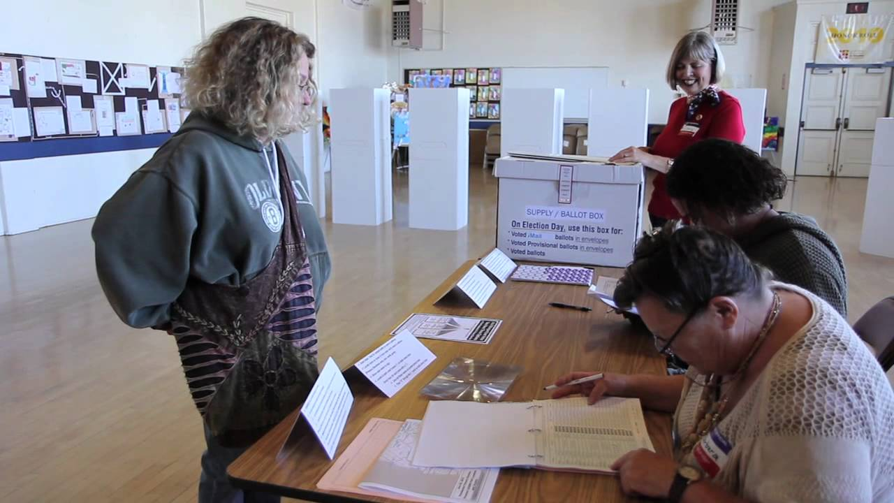 Meet Barbara Latham, Volunteer Poll Worker