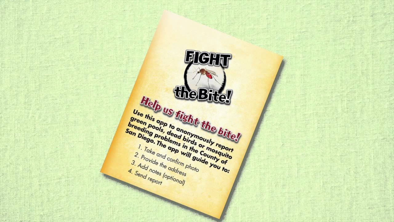 """New Public Service Announcement Wants You To """"Fight The Bite!"""""""