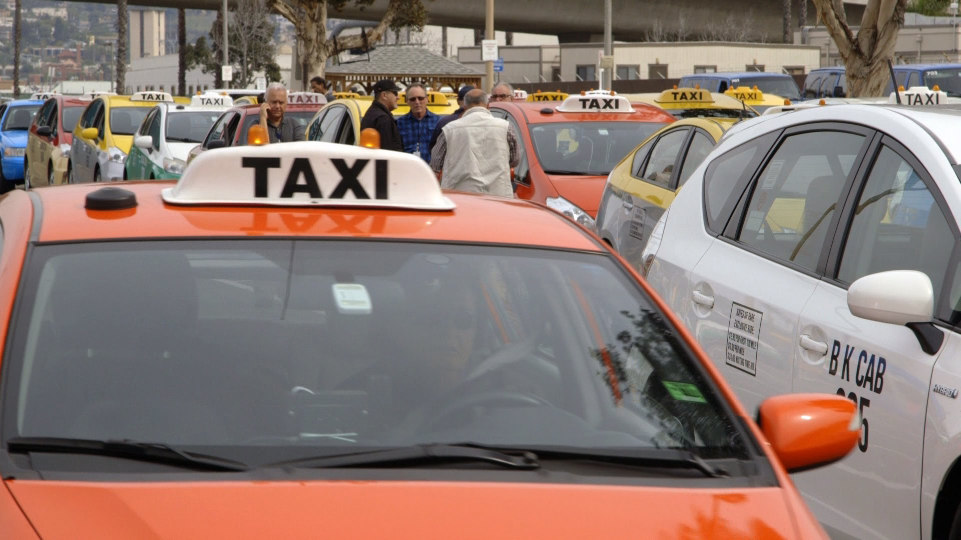New Push to Cut Airport Taxi Pollution