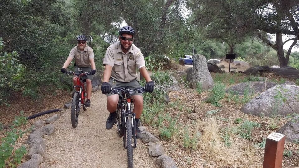 Park Rangers Use Bikes to Better Patrol