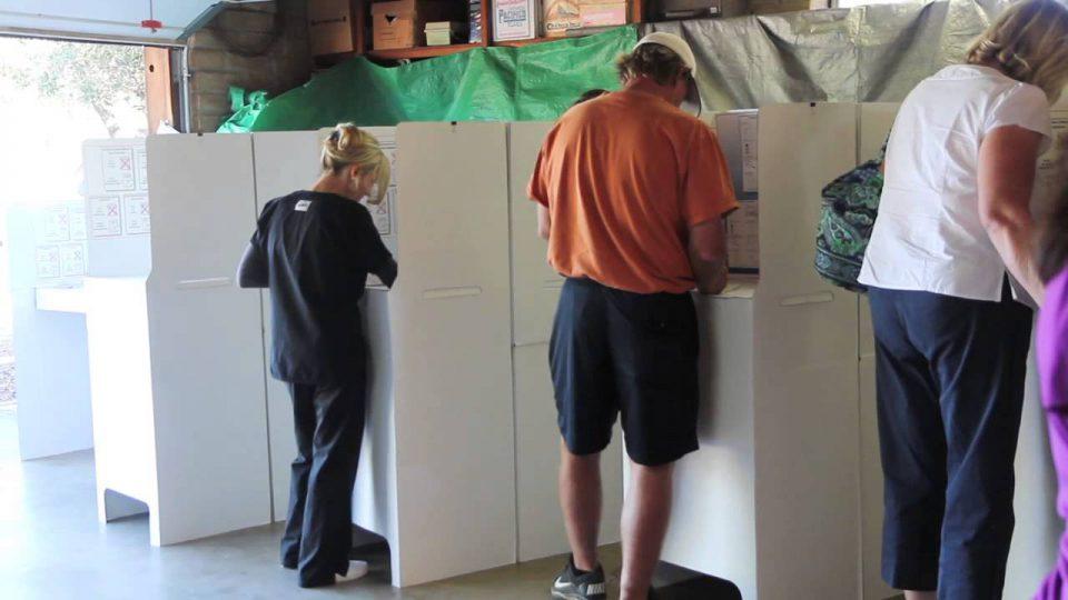 Poll Worker in Action: Joy Walsh in El Cajon