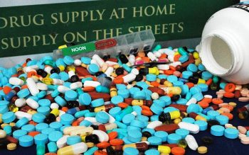 Mixture of various prescription pills turned in to Sheriff.