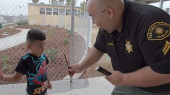 Probation Officers Welcome Students Back To School
