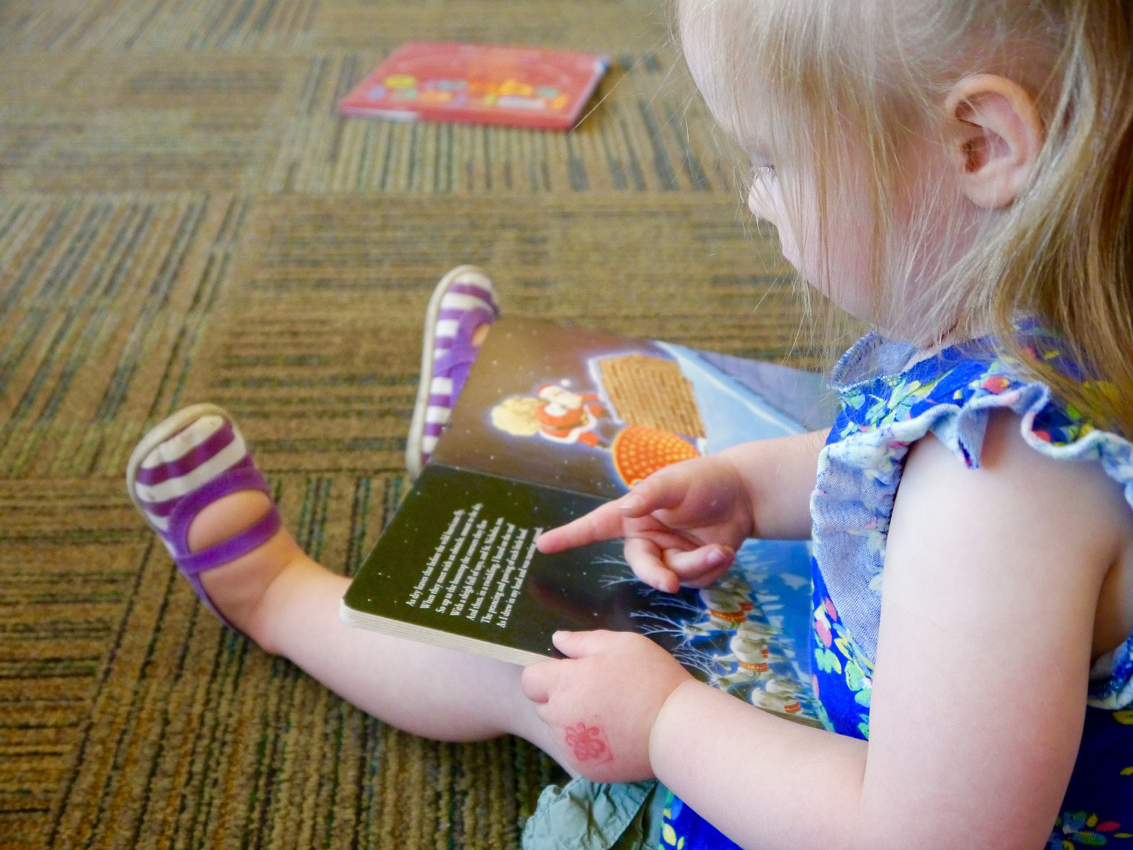 4S Ranch Library Toddler Storytime Session 1