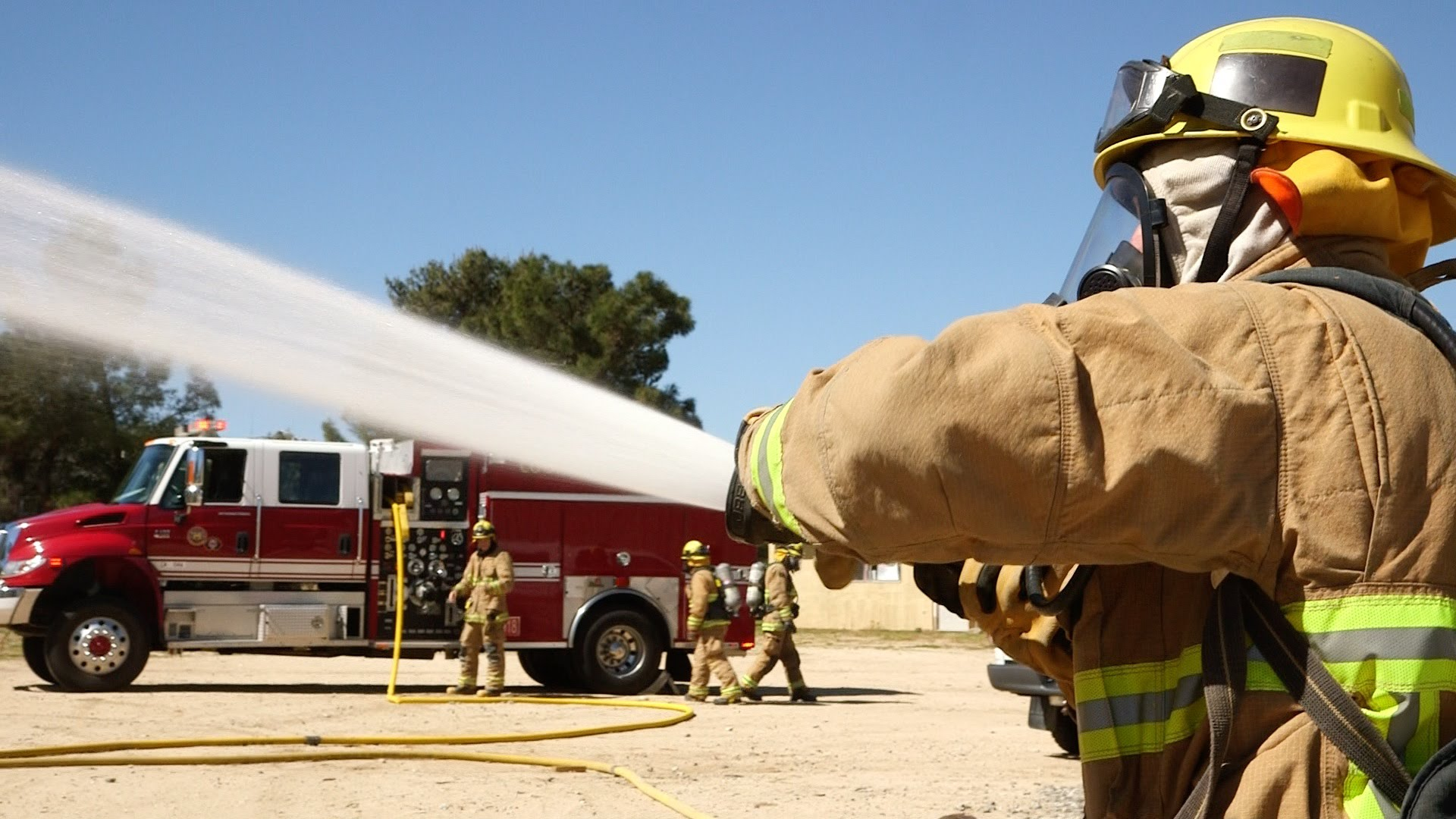 Reserve Firefighters Vital to Rural Communities
