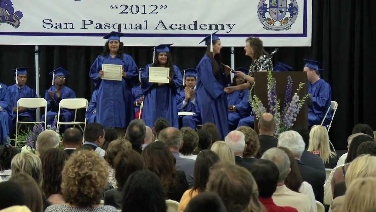 San Pasqual Academy Graduation 2012