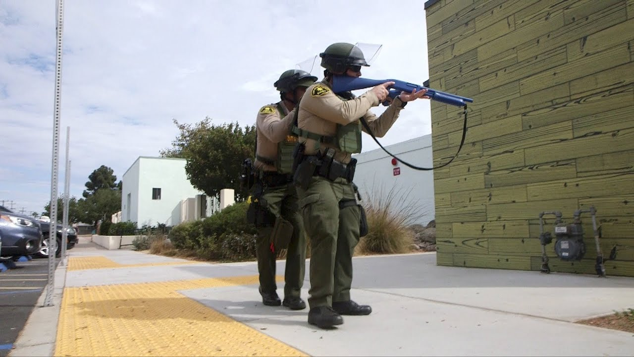 Sheriff's Deputies Train with New Tools