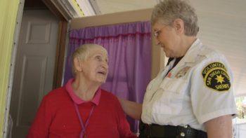 Sheriff's Volunteers Bring Holiday Cheer to Homebound Seniors