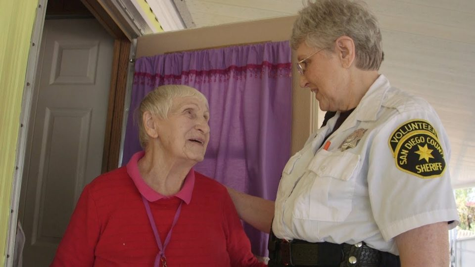 Sheriff's Volunteers Bring Holiday Cheer to Homebound Seniors