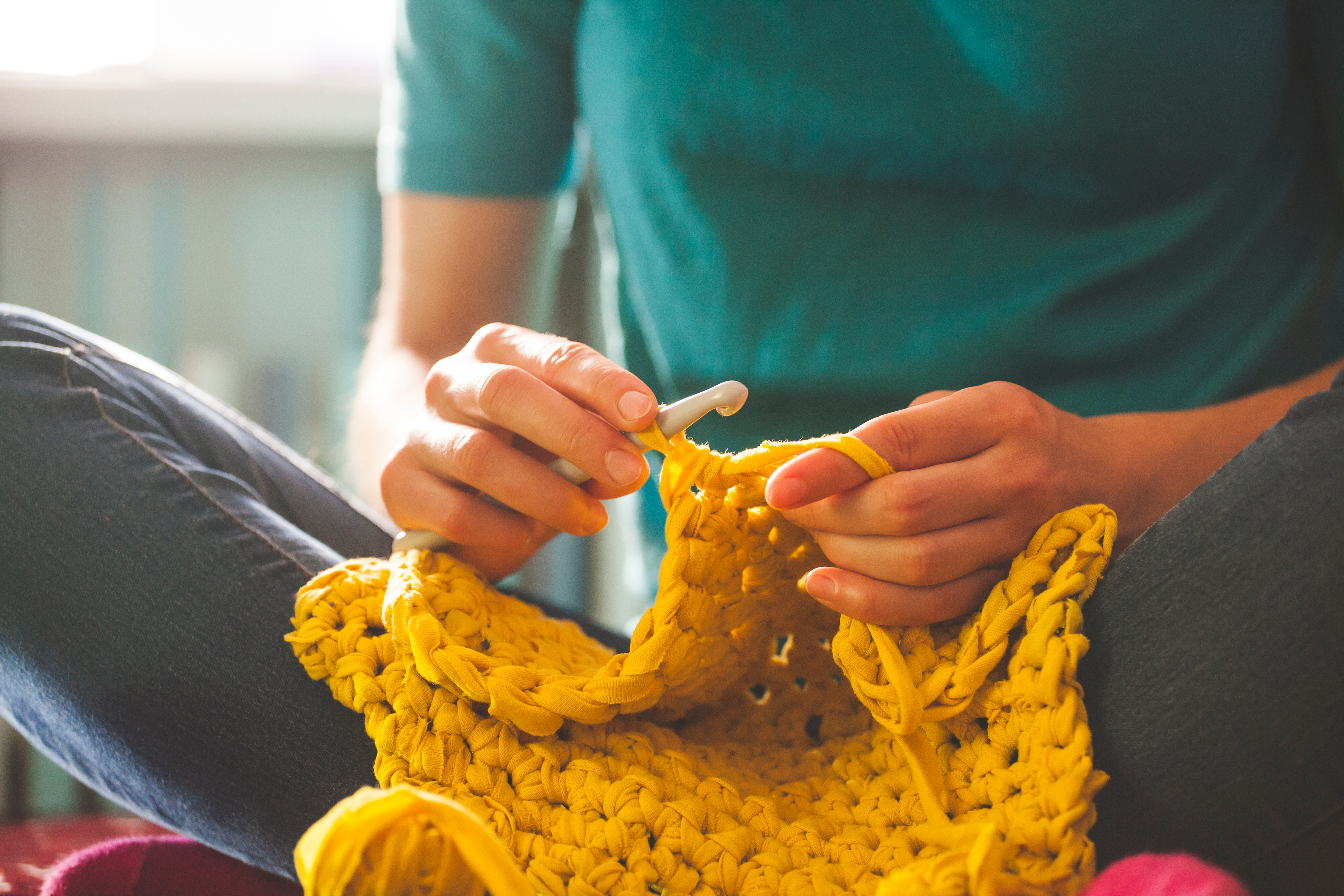 Alpine Library Crochet Corner