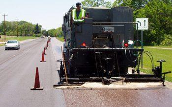 slurry-roadway