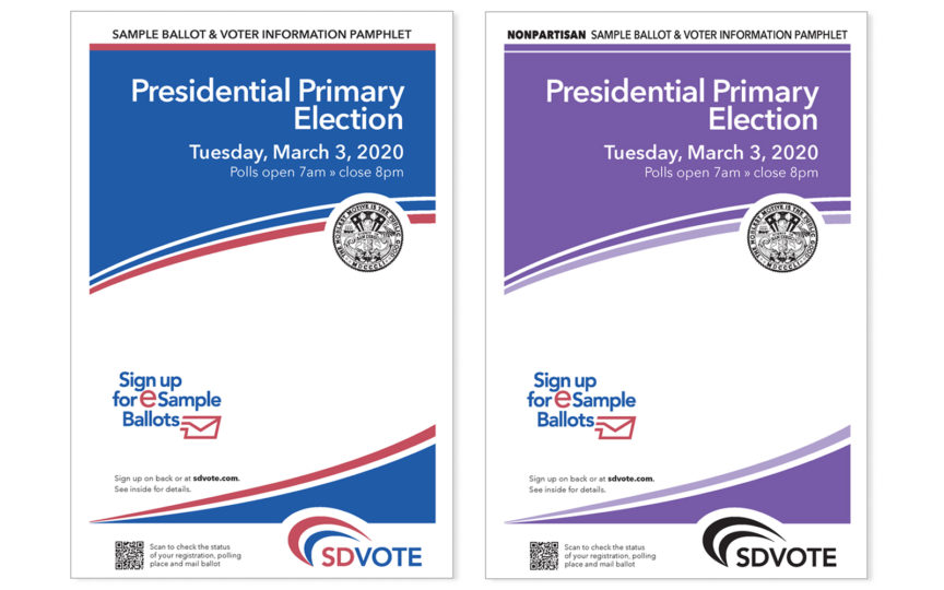 cover of ballot and voter information guide