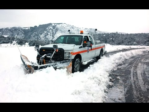 Snow Sends Public Works' Plows Into Action