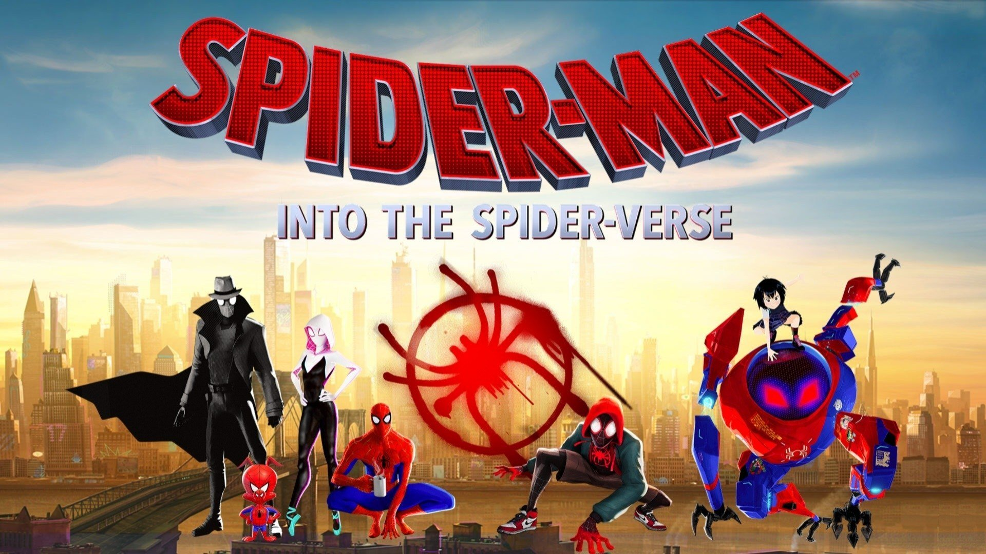 Free Summer Movies in the Park: Spiderman Into the Spiderverse at Waterfront Park