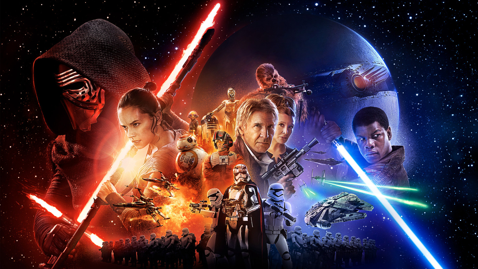 Free Summer Movies in the Park: Star Wars - the Force Awakens at Tierrasanta Park