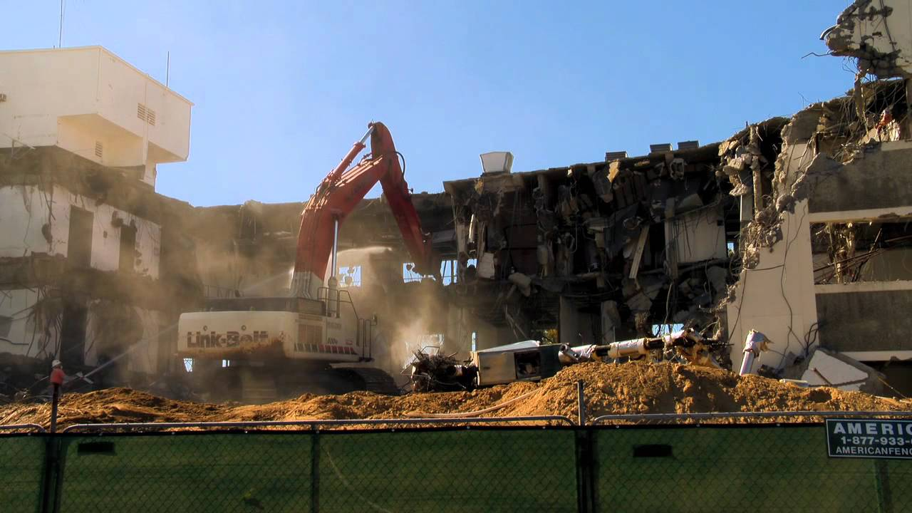 Time-Lapse of Health Building Demolition