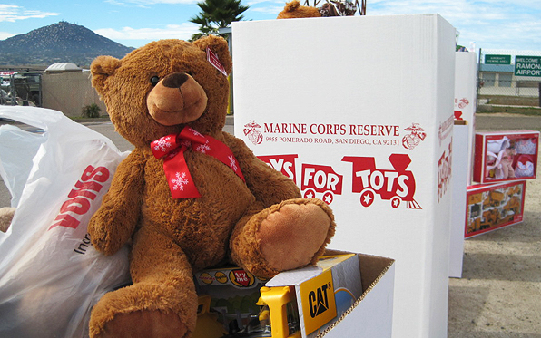 Toys For Tots Marine Bear : Marines coming to county airports collect toys for tots